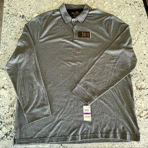 Tasso Elba Men's Long Sleeve Polo – 2XL
